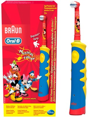 ЩЕТКА BRAUN ORAL B KIDS MICKEY MOUSE